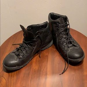 Other - Black leather autumn boots size 44 by Browns ID
